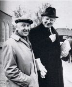 Marcus Wickham-Boynton (left) at the 1966 December Sales. Click for a larger image.